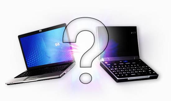 Cara Membedakan Laptop, Notebook dan Netbook