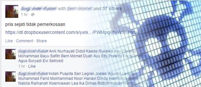 Cara Mengatasi Malware Pria Pemerkosa di Facebook