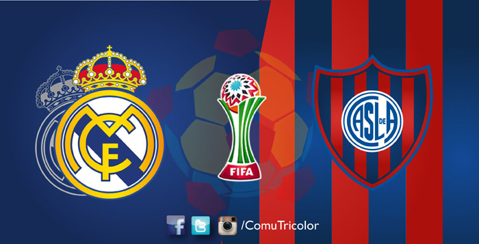 Real Madrid vs San Lorenzo