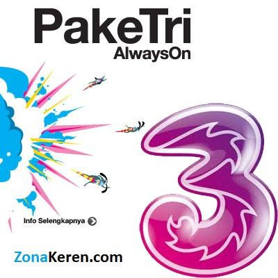 Harga Paket Internet 3 Tri