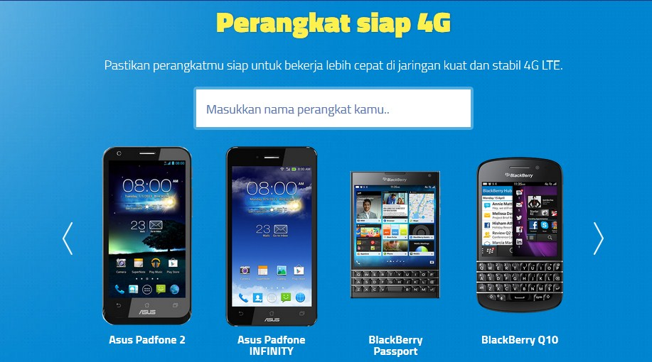 Smartphone Android 4G LTE