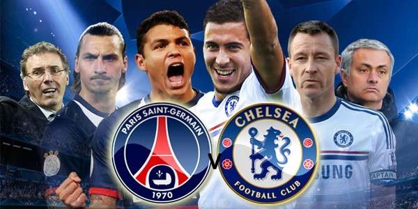prediksi Paris Saint-Germain vs Chelsea