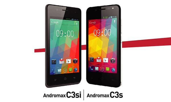 Andromax C3s & C3si