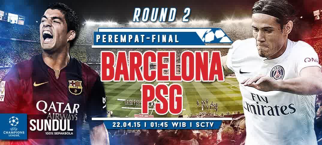 Prediksi Barcelona vs Paris Saint Germain