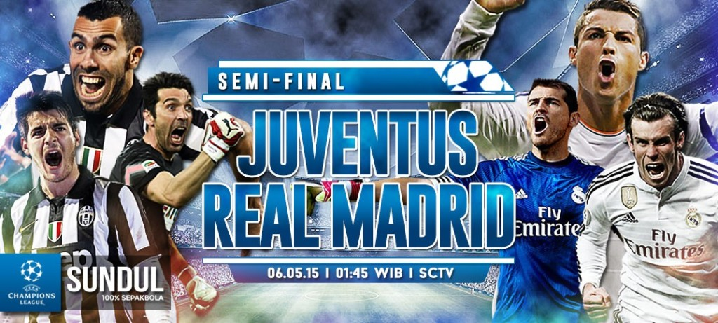 Prediksi Juventus vs Real Madrid Liga Champions