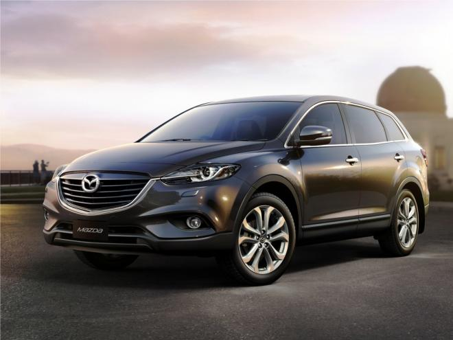 Mazda CX-9 Facelift