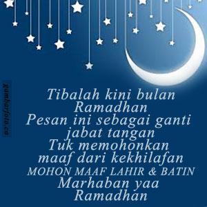 DP BBM Bahasa Jawa Ucapan Ramadhan Terbaru