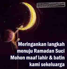 DP BBM Ucapan Marhaban Ya Ramadhan Teranyar