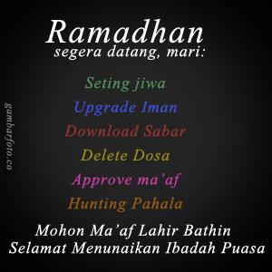 DP BBM Kata Bijak Mutiara Ramadhan Puasa Terkini