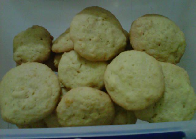 Cornflake Ginger Drop Cookies