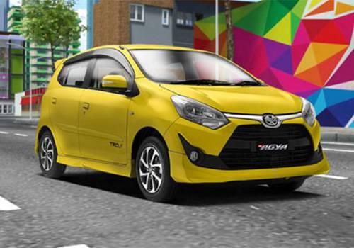 Harga New Toyota Agya Facelift