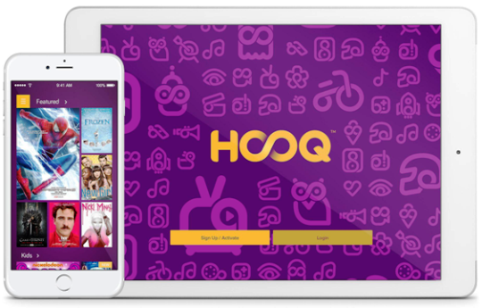 HOOQ layanan penyedia konten video on demand