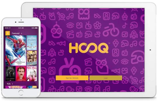 HOOQ layanan penyedia konten video on demand