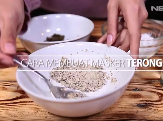Cara Membuat Masker Terong