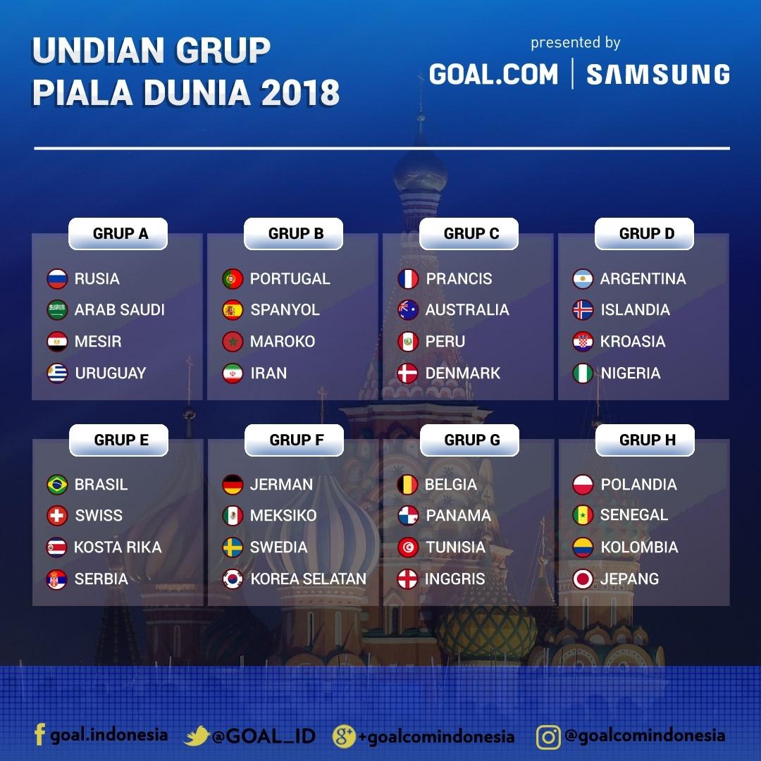 Jadwal Siaran Langsung Kualifikasi World Cup 2018