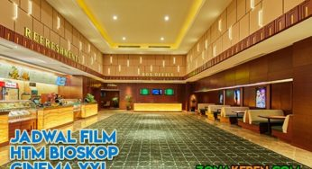 Jadwal bioskop sleman city hall hari ini