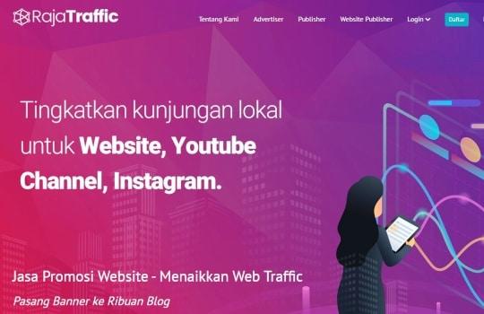 RajaTraffic.com Adalah Jasa Website Traffic Terbaik di Indonesia