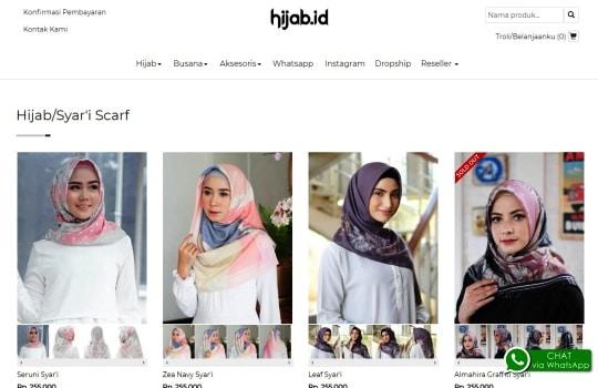 Tips Cara Memilih Hijab untuk Wajah Kotak Persegi