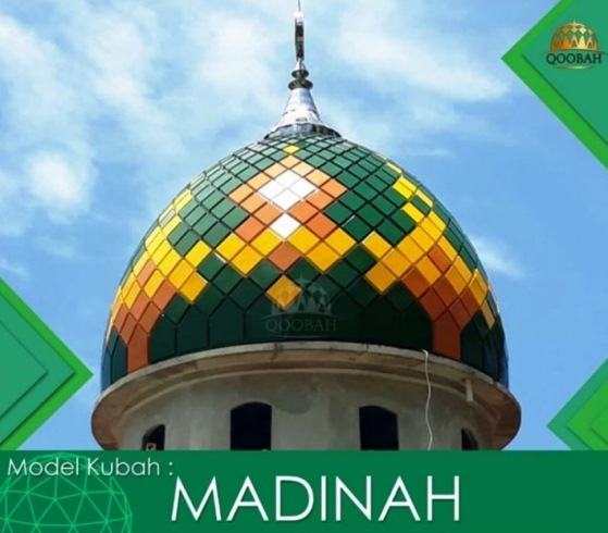 Model Kubah Masjid Madinah