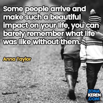 Gambar Caption Kata Bijak Bahasa Inggris Awal Bulan Persahabatan Friendship Quotes Arti Terjemahan Anna Taylor