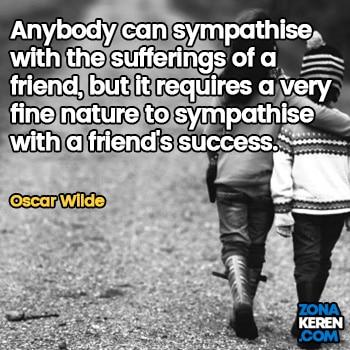Gambar Caption Kata Bijak Bahasa Inggris Awal Bulan Persahabatan Friendship Quotes Arti Terjemahan Oscar Wilde