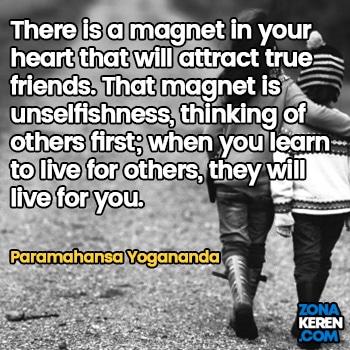 Gambar Caption Kata Bijak Bahasa Inggris Awal Bulan Persahabatan Friendship Quotes Arti Terjemahan Paramahansa Yogananda