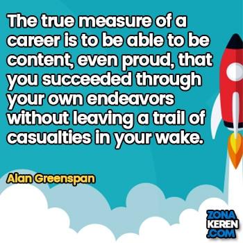 Gambar Caption Kata Bijak Karir Bahasa Inggris Career Quotes Arti Terjemahan Alan Greenspan