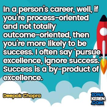 Gambar Caption Kata Bijak Karir Bahasa Inggris Career Quotes Arti Terjemahan Deepak Chopra