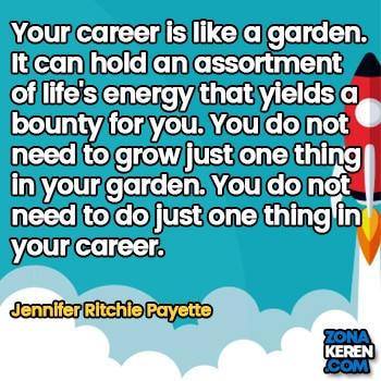 Gambar Caption Kata Bijak Karir Bahasa Inggris Career Quotes Arti Terjemahan Jennifer Ritchie Payette