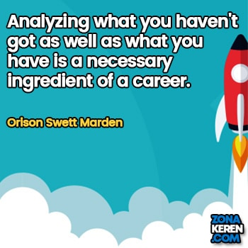 Gambar Caption Kata Bijak Karir Bahasa Inggris Career Quotes Arti Terjemahan Orison Swett Marden