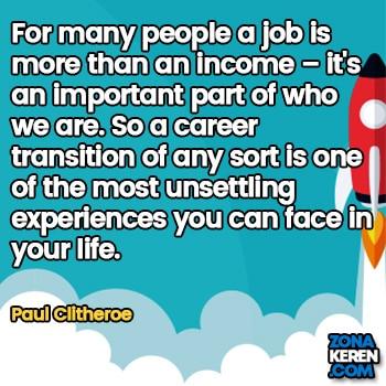 Gambar Caption Kata Bijak Karir Bahasa Inggris Career Quotes Arti Terjemahan Paul Clitheroe