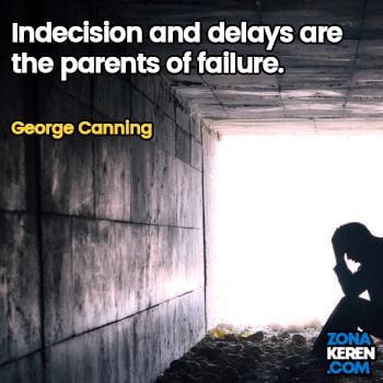 Gambar Caption Kata Bijak Kegagalan Bahasa Inggris Failure Quotes Arti Terjemahan George Canning