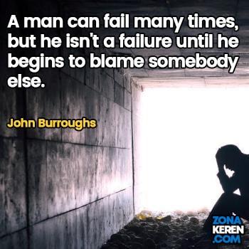Gambar Caption Kata Bijak Kegagalan Bahasa Inggris Failure Quotes Arti Terjemahan John Burroughs