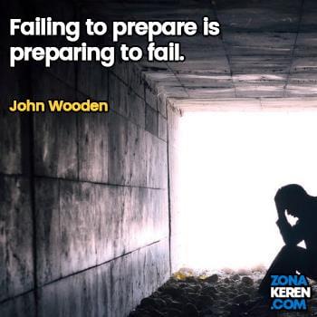 Gambar Caption Kata Bijak Kegagalan Bahasa Inggris Failure Quotes Arti Terjemahan John Wooden