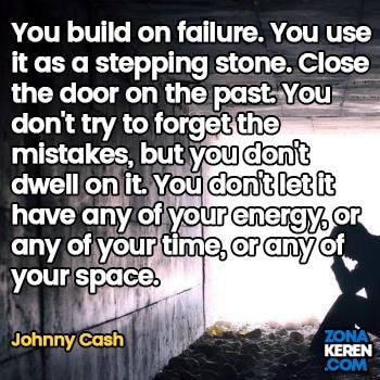 Gambar Caption Kata Bijak Kegagalan Bahasa Inggris Failure Quotes Arti Terjemahan Johnny Cash