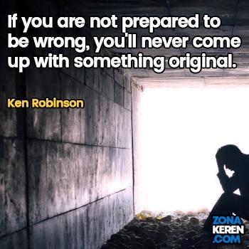 Gambar Caption Kata Bijak Kegagalan Bahasa Inggris Failure Quotes Arti Terjemahan Ken Robinson