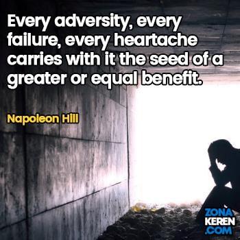 Gambar Caption Kata Bijak Kegagalan Bahasa Inggris Failure Quotes Arti Terjemahan Napoleon Hill