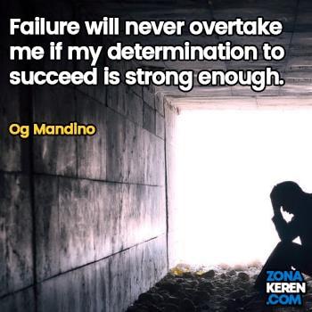 Gambar Caption Kata Bijak Kegagalan Bahasa Inggris Failure Quotes Arti Terjemahan Og Mandino