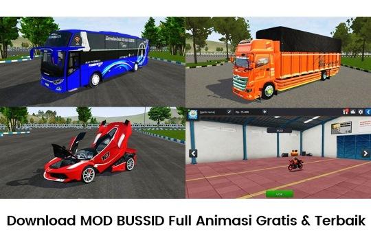 Download MOD BUSSID Full Animasi Gratis dan Terbaik