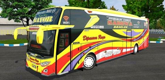 JB3+ SHD Mercedes Benz O500RS