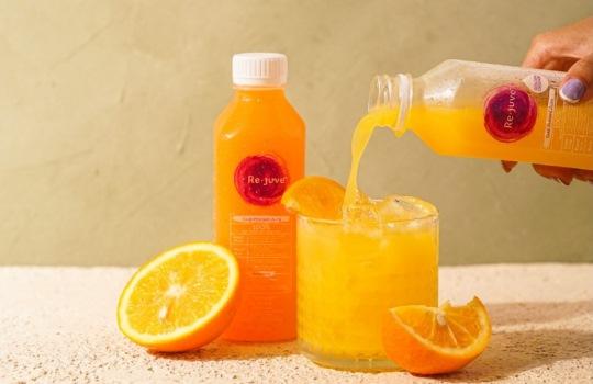 Jus Jeruk dari Re.juve Kaya Vitamin dan Nutrisi dengan Kesegaran Maksimal